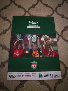 Team Singapore vs Liverpool FC Souvenir Programme