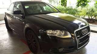 Audi A4 sline 1.8t 🇸🇬 Singapore Car. Rm 10k 9.6k nett siap roadtax amik JB ✔️