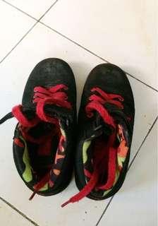 Preloved Fila Hi-Cut Rubber Shoes