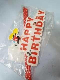 Decorating Cake Design Stick
