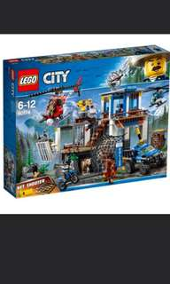 LEGO 60174 - Mountain Police Headquaters (Brand new and Sealed)