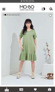有機棉洋裝👗