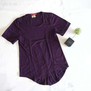 Purple in shirt