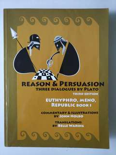 Reason & Persuasion by John Holbo (NUS)