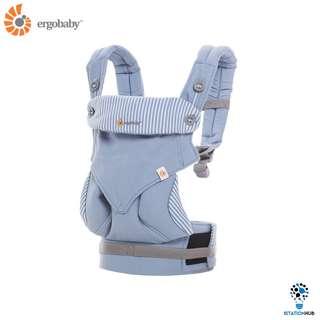 [Pre-Order] Ergobaby Four Position 360 Baby Carrier | Azure Blue [BG-BC360ALTBL]