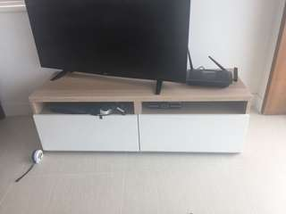 TV Cabinet 2 Drawers