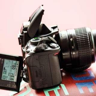 Nikon D5000 Dslr High Quality capturing w/ Live View Mode