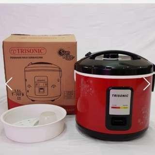Rice Cooker Magic Com Trisonic Ukuran Lengkap Membuat Nasi Rumah Jadi Mudah