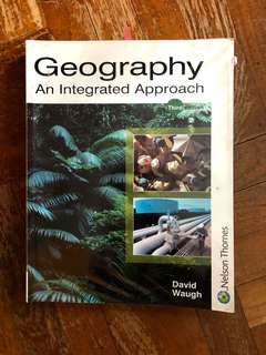 Geography book by David Waugh