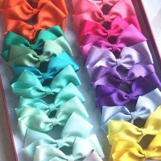 Premium Ribbon Madness Hair Clips - Assorted Colours