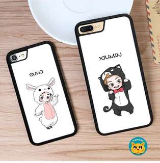 [PO] XIUMIN SUHO Iphone 5/5s/6/6s/6plus/7/7Plus/X Cover