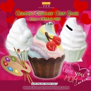 Ceramic Cupcake18-A