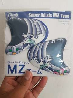 (Installment Available) Arai R4 Oriental Matt Blue Armset