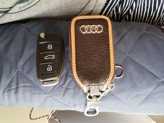 Audi key pouch