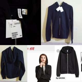 H&m hoodie / hoodie h&m / h&m jacket / jacket h&m / black hoodie / black jacket
