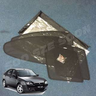 [New] PROTON GEN2 Magnetic + Clip OEM Custom Fit UV Proof Sunshade (4pcs)