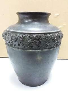 銅花瓶 日本 昭和8年