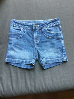 Jeans shorts 4-5 Years Old