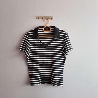 Vneck Polo Shirt
