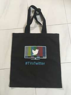 Tote bag from Twitter