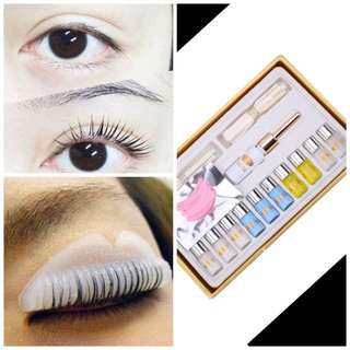 Eyelash Extension , perming curler