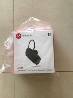 Motorola Wireless headset