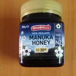 New Zealand Manuka Honey M30+   350g