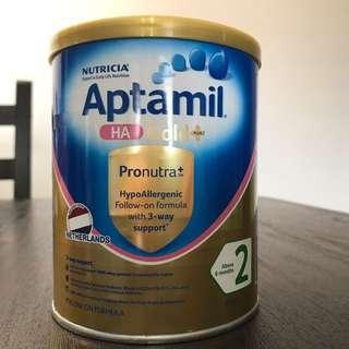 Brand new Sealed Aptamil HA 2