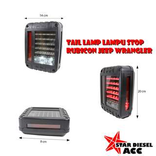 Tail Lamp Lampu Stop Jeep Rubicon Jeep Wrangler