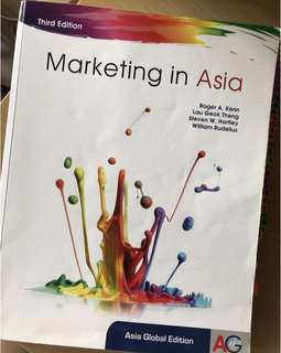 marketing in asia (3rd edition) textbook