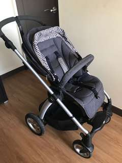 Mamas & Papas Sola 2 MTX Denim Stroller Pushchair