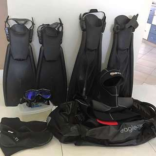 Diving Gear Bundle