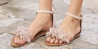 TCL KALINA SANDALS IN LIGHT PINK