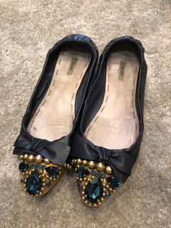 100% Authentic Miu Miu Flats 39