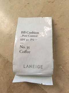 Laneige BB Cushion Pore Control Refill No. 35 Coffee