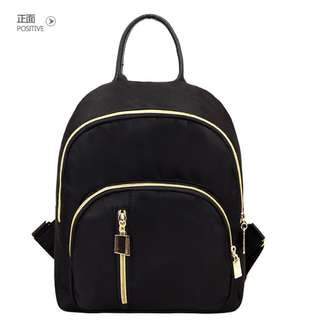 Water Repellent Casual School Backpack without Back Pocket