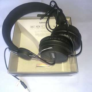 Foldable Headphone Black