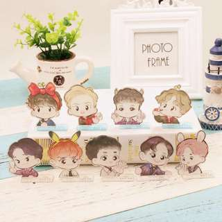 [PO] EXO Fanart Table stand deco standee