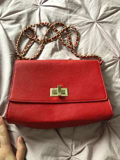 Red purse forever21