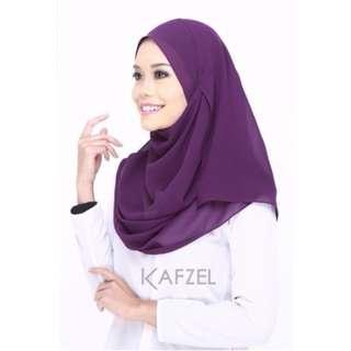 Shawl Launa Purple