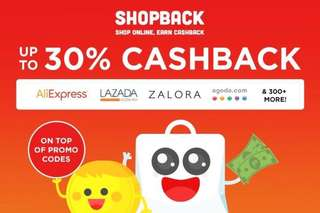 Earn cash while you shop with Shopback!
