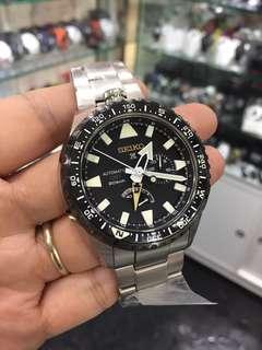 旺角門市現貨 Seiko Prospex SBEJ003 GMT 鈦金屬 日本限量500 本