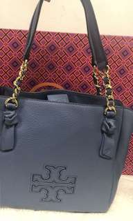 Tory burch harper small satchel  23.5x23cm 配有長帶可斜揹
