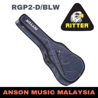 Ritter Performance RGP2-D/BLW Dreadnought Acoustic, Navy-Light Grey-White