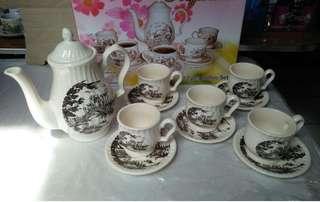 Tea and coffee Set,  Murah