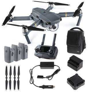 DJI Mavic Pro Fly More Combo. 1 Year Warranty from Dji Malaysia