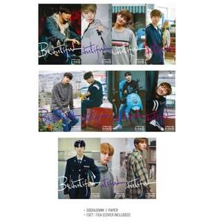 [READYSTOCK] WANNA ONE OFFICIAL MD (POSTER)