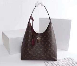 LV Flower Hobo Bag