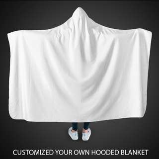 Customize your Hooded Blanket!