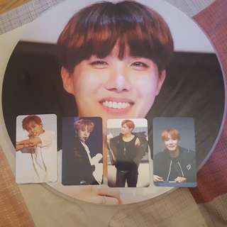 BTS J-HOPE/HOSEOK FAN & PHOTOCARDS